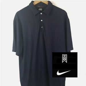 Tiger Woods Collection Nike Dri Fit Golf Polo